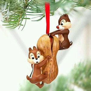 Weihnachts Deko Nuss Chip und Chap