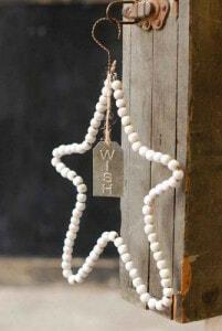 Weihnachtsstern perlen Wish
